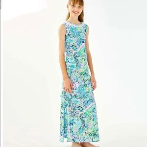LILLY PULITZER LITTLE LILLY CLASSIC MAXI DRESS
